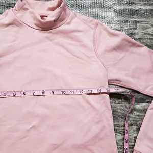 Nike Tops - Nike FIT DRY light pink turtleneck, size medium